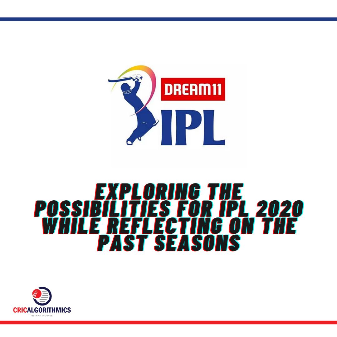 EXPLORING THE POSSIBILITIES FOR IPL 2020 WHILE REFLECTING ON THE PAST SEASONS
